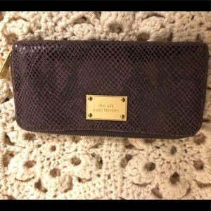 Michael Kors Purple Wallet